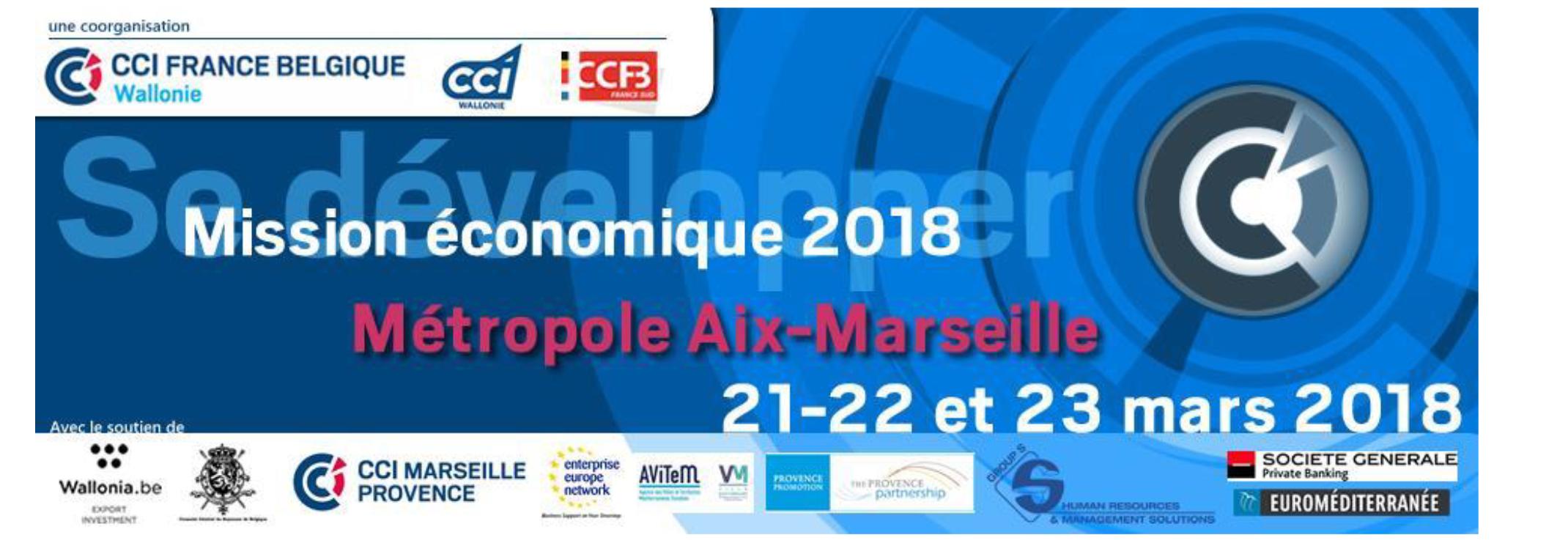 Les 21 et 22 mars 2018 mission conomique de la cci france belgique wallonie ccfb - Chambre de commerce franco belge ...